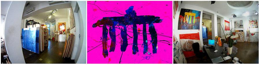 zeitgenössiche junge Kunst günstig, Berlin-Kunst