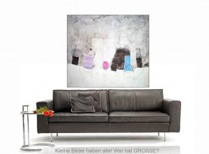 Junge Berliner Künstler, moderne Kunstwerke, Leinwandmalerei, echte Leinwandkunst