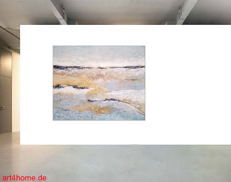 blue landscape mischtechnik leinwand 140 110 cm original 840 euro art4berlin. Black Bedroom Furniture Sets. Home Design Ideas