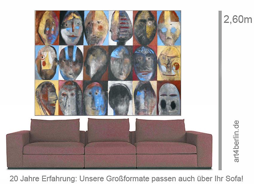 magic minds unikat acryl auf leinwand 160 125 cm original 990 euro art4berlin. Black Bedroom Furniture Sets. Home Design Ideas