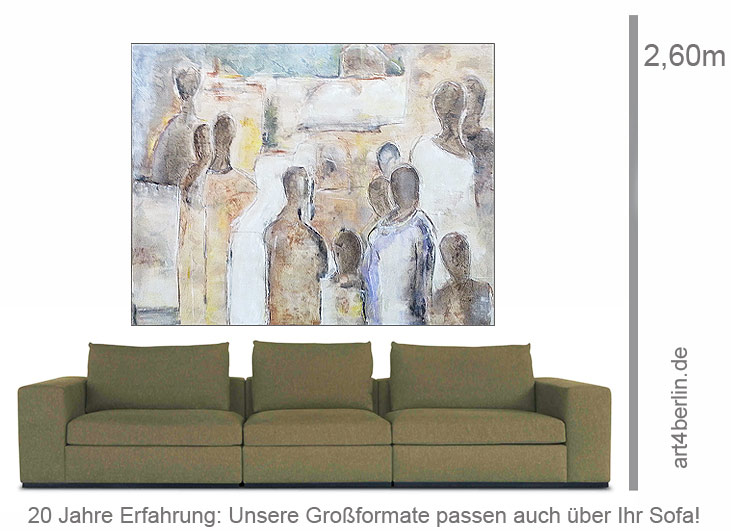 bekenntnisse in acryl auf leinwand 155 130 cm original 990 euro art4berlin kunstgalerie. Black Bedroom Furniture Sets. Home Design Ideas