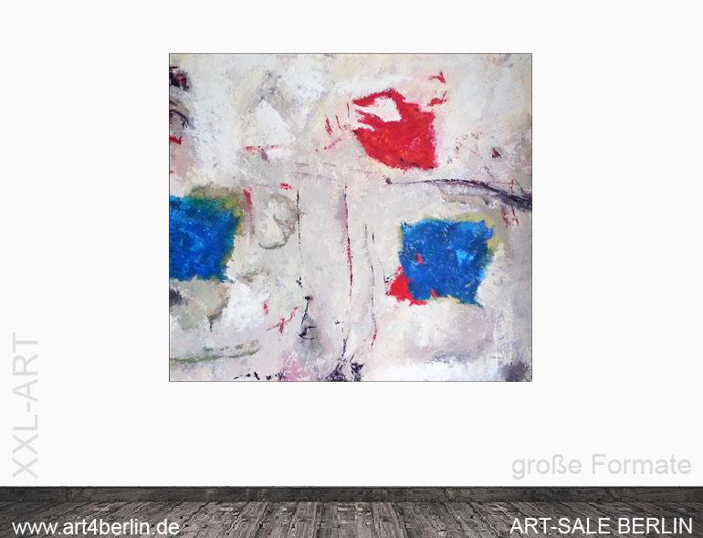 moderne Gemälde, abstrakte Malerei, großformatige Kunst