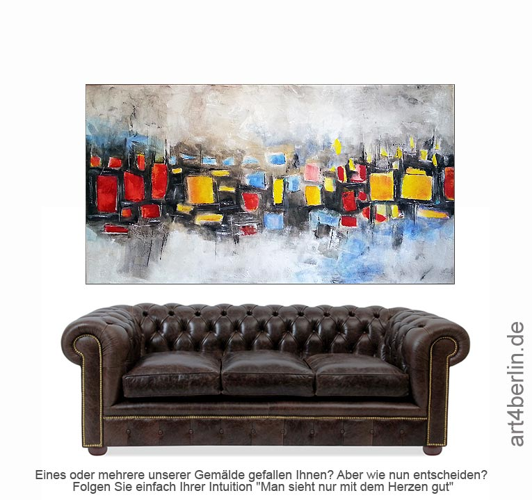 ornaments acrylmischtechnik leinwand art4berlin kunstgalerie onlineshop. Black Bedroom Furniture Sets. Home Design Ideas