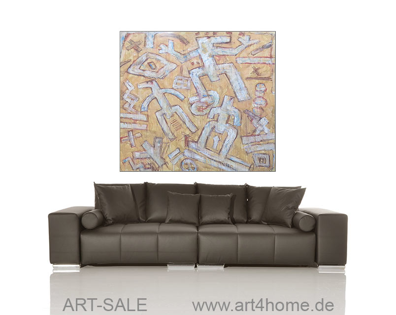 magic signs original acryl l bild 150 135 cm 990 euro art4berlin kunstgalerie onlineshop. Black Bedroom Furniture Sets. Home Design Ideas