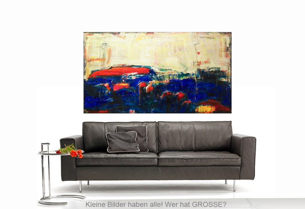 moments mischtechnik leinwand 165 90 cm original 840 euro art4berlin kunstgalerie onlineshop. Black Bedroom Furniture Sets. Home Design Ideas