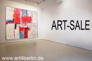Moderne Originalkunst, abstrakte  Malerei, moderne grosse Bilder zu günstigen Preisen, Kunstgalerie Berlin im Galerienviertel