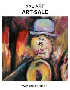 Die Galerie art4berlin erfrischt mit neuen Gemälden. BERLIN KUNST, Malerei preiswert  kaufen. Berlin Bilder! Es ist eine Kunst, Kunst günstig zu kaufen!