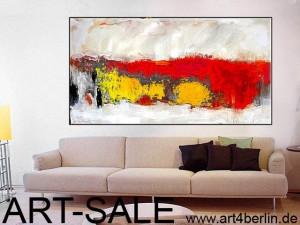 grossformatigen modernen abstrakten Gemälden, Kunsthandel, Galerie