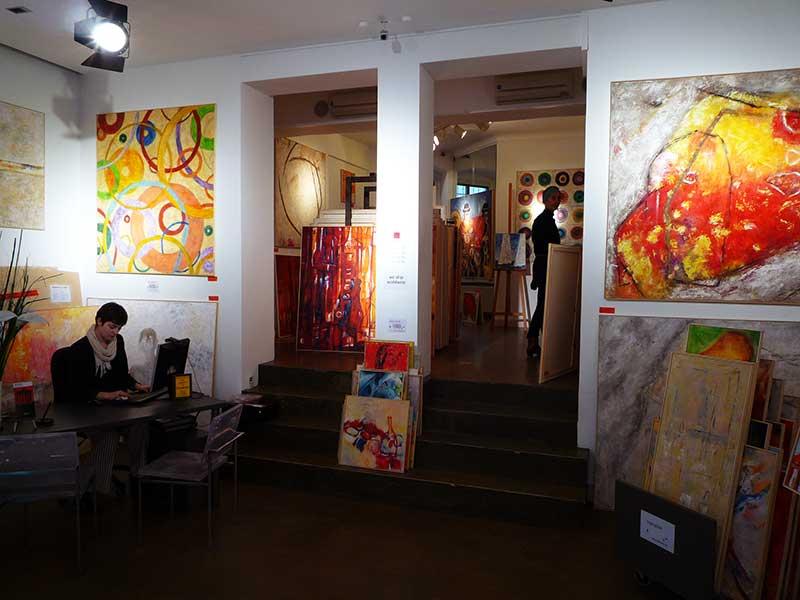 abstrakt malerei modern junge kunst berlin