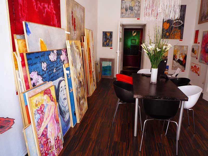 Begegnung mit junger Kunst – Malerei, Berlin-Kunst