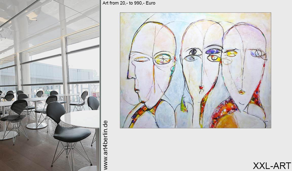 junge kunst berlin leinwandbilder grossformatig