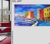 Moderne Kunst für Zuhause. Wohnen mit großer Kunst