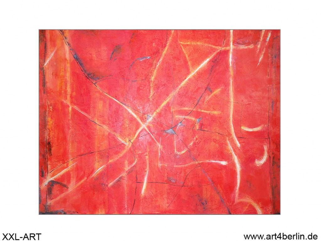 rote versuchung acrylleinwandbild 140 105 cm original 840 euro art4berlin kunstgalerie. Black Bedroom Furniture Sets. Home Design Ideas