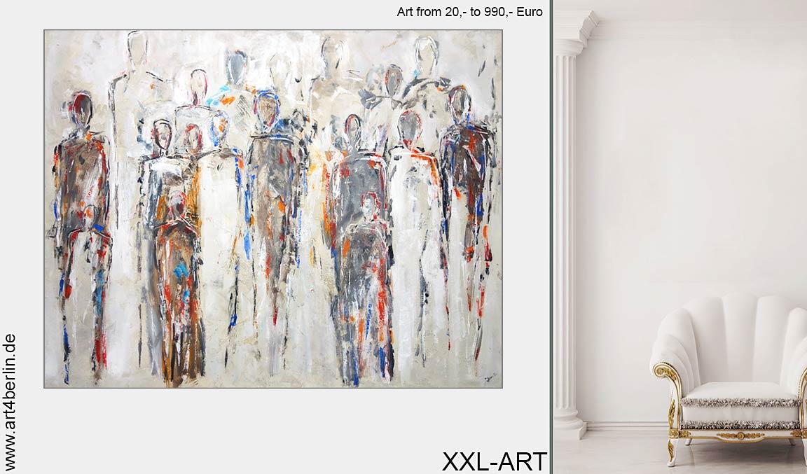 Kunstgalerie Berlin präsentiert junge talentierte Künstler.