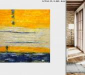 xxl bilder malerei guenstig abstrakt wohnzimmer