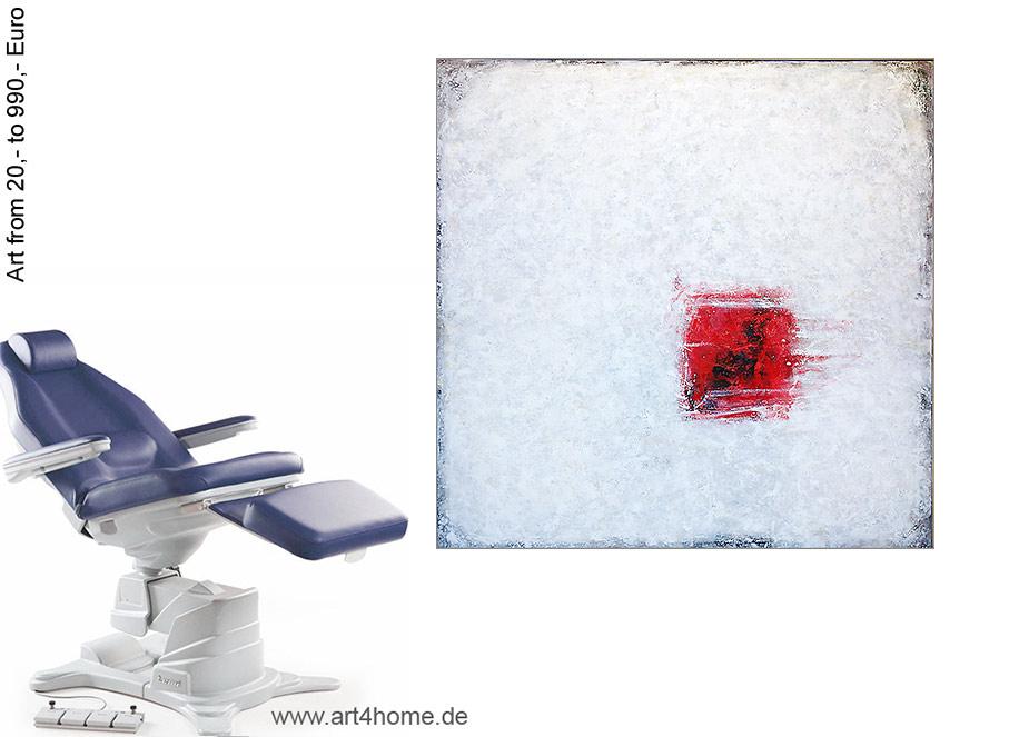 Jung, wild, kreativ, zeitgenössische Malerei, moderne abstrakte Gemälde.