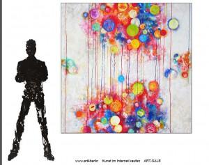 Kunstgemälde, echte Leinwandmalerei im Onlineshop