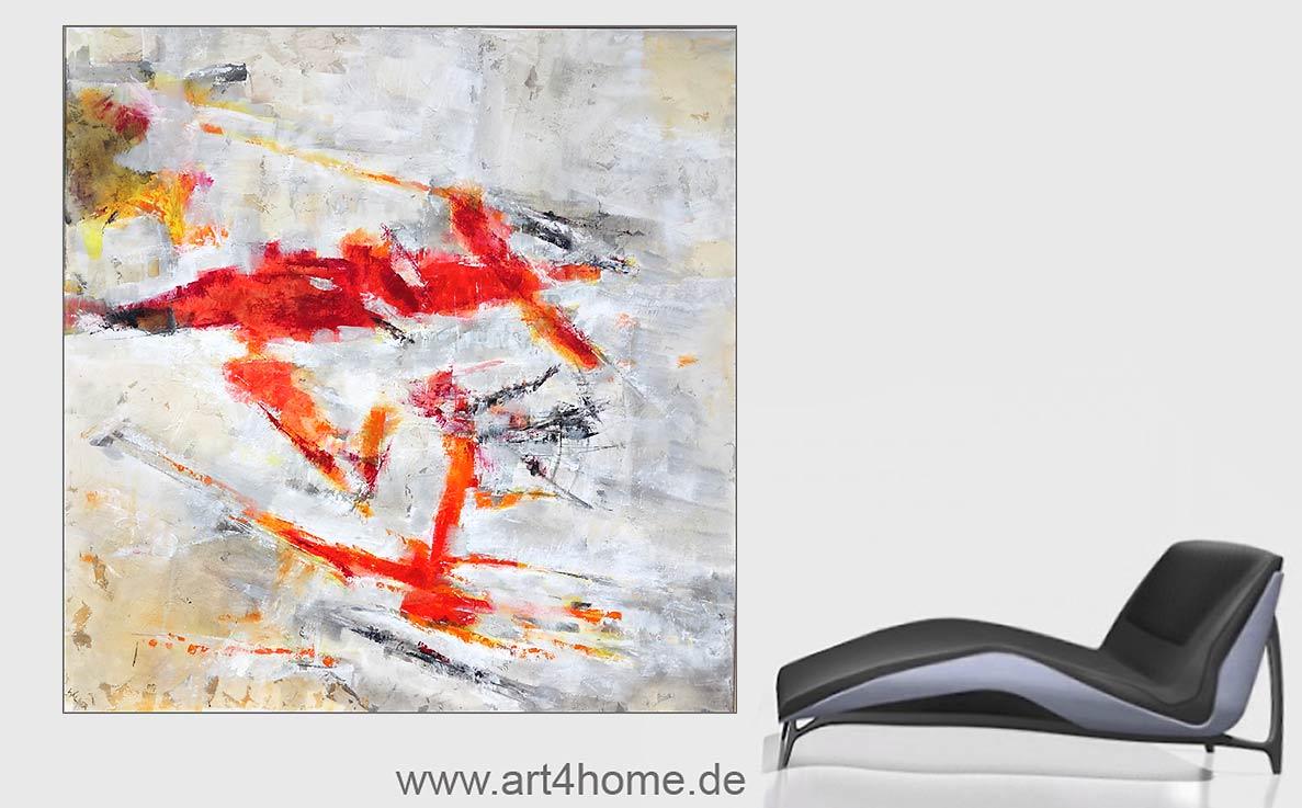 Abstrakte Gemälde. 2 Galerien in Berlin.