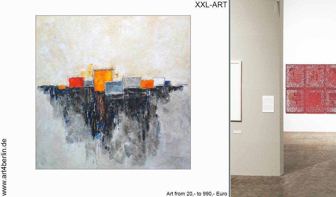 Gro formatige malerei art4berlin kunstgalerie onlineshop - Leinwandbilder moderne kunst ...