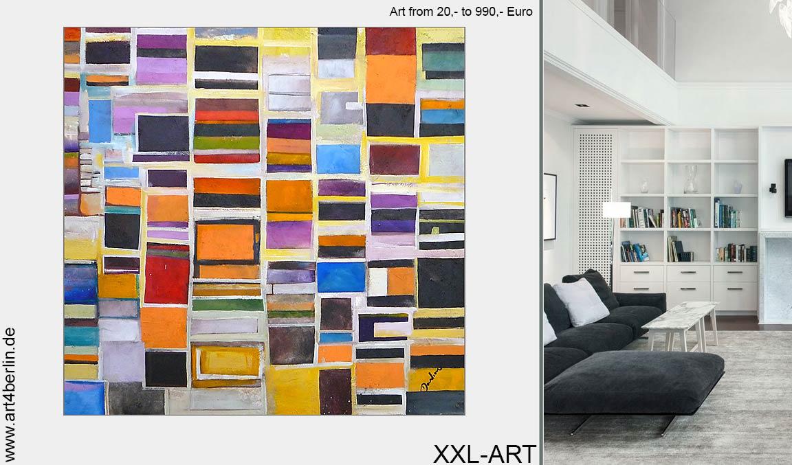 moderne junge Kunst kaufen Webshop Acrylmalerei