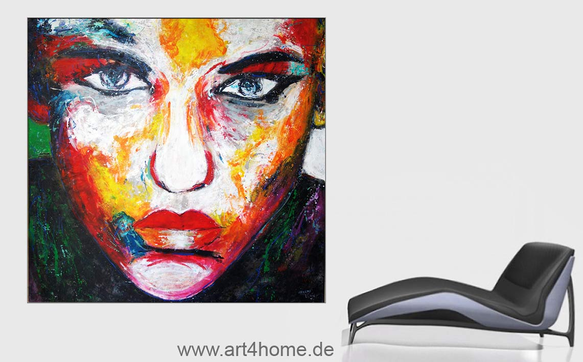 Kunsthandel in Berlin, Berliner Künstlerateliers, abstrakte Ölmalerei,