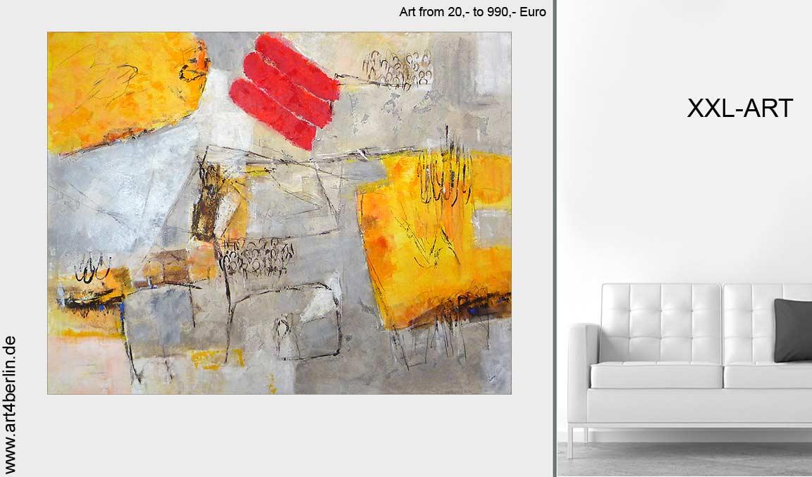 Gemälde der Galerie art4berlin