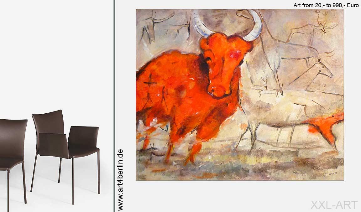 Grossformatige Malerei. Interior Arts.