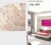 Gemälde der Galerie art4berlin. Grossformatige Malerei