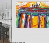 XXL- Ölgemälde direkt aus Berliner Ateliers. art4home.de