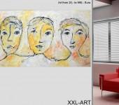 Originale, Groß- und Mittelformate, moderne, zeitgenössische Gemälde in 2 Berliner Galerien.