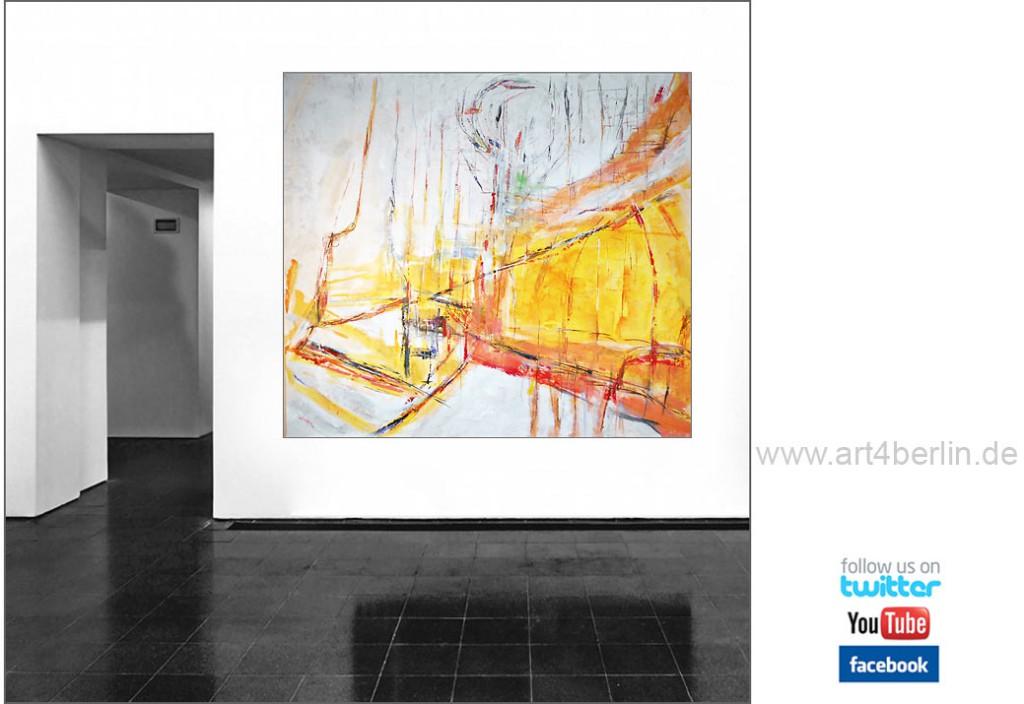 wahrheit und traum k nstleracrylfarben leinwand 150 135 cm original 990 euro art4berlin. Black Bedroom Furniture Sets. Home Design Ideas