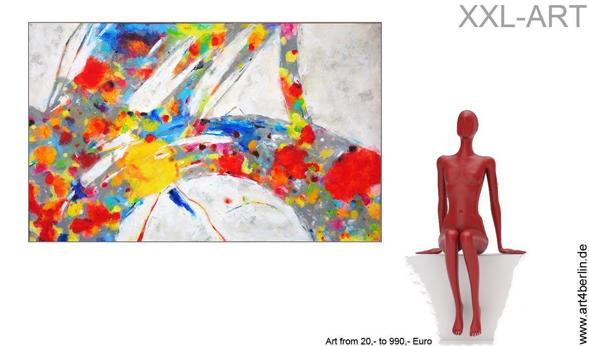 grosse formate moderne kunst