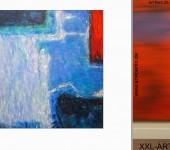 sinnliche Gemälde, junge Kunst