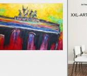 Echte Malerei, abstrakte Acrylbilder und moderne Kunst aus Berlin