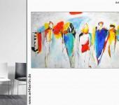 Abstrakte XXL Wandbilder