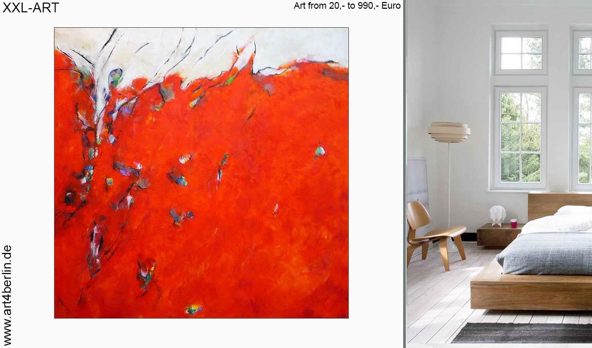 aktuelle Trends moderner Berlin-Kunst von XXL- bis S-Formaten