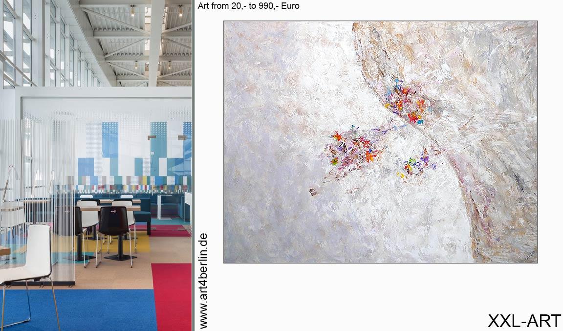 Berlin Leinwandbilder kaufen abstrakt Galerie online