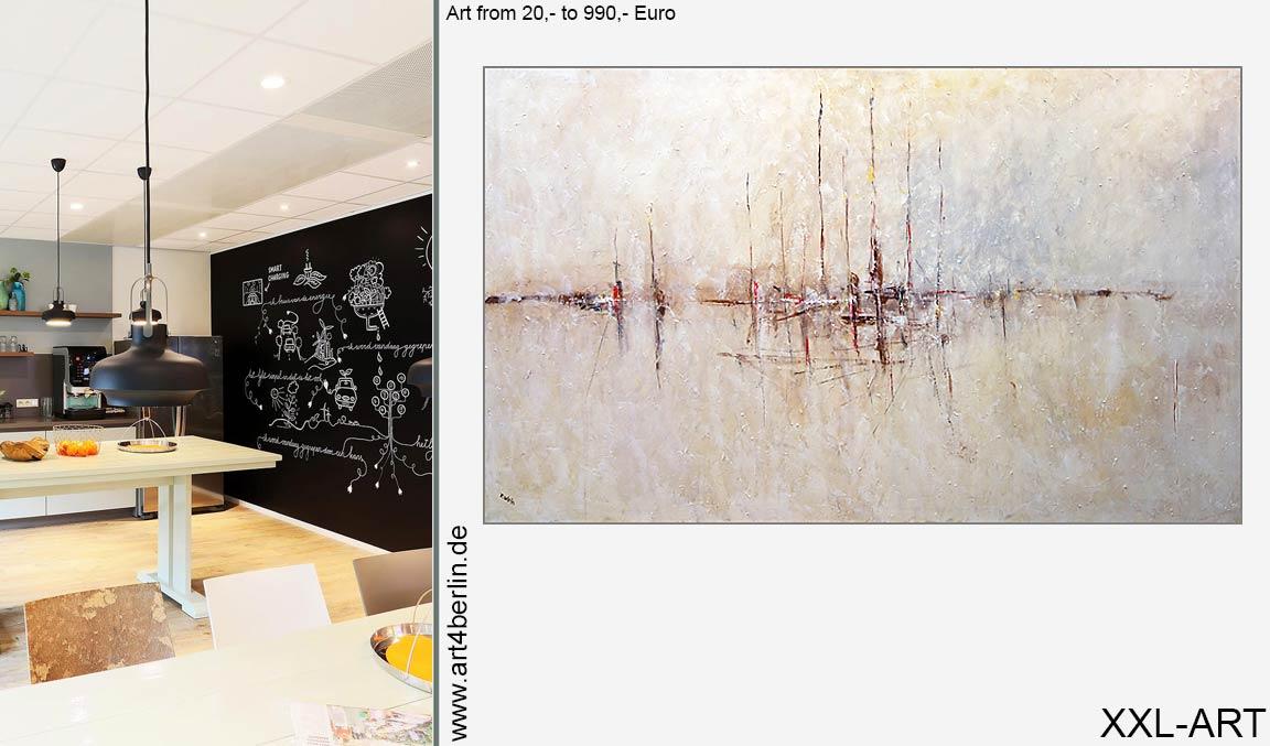 Junge Künstler. Malerei kaufen. Großformatige Bilder.