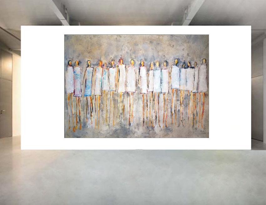 Moderne Kunst zum Verlieben in zwei Berliner Galerien