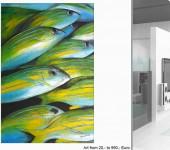 großformatige Acrylbilder, moderne Malerei, Made in Berlin,