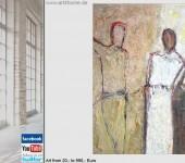 junge kunst malerei modern