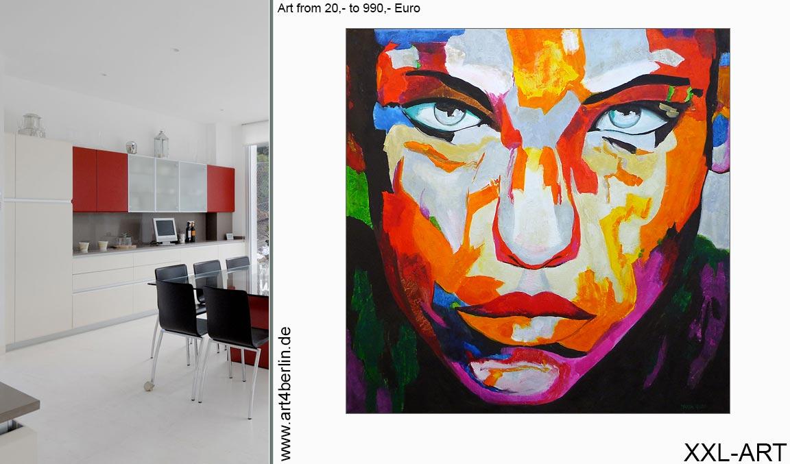 berlin kuenstler leinwandbilder kunst malerei