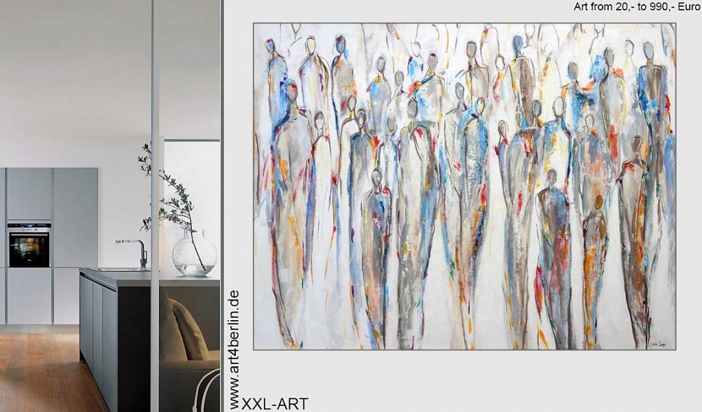 Bilder im Wohnzimmer - echte Kunst