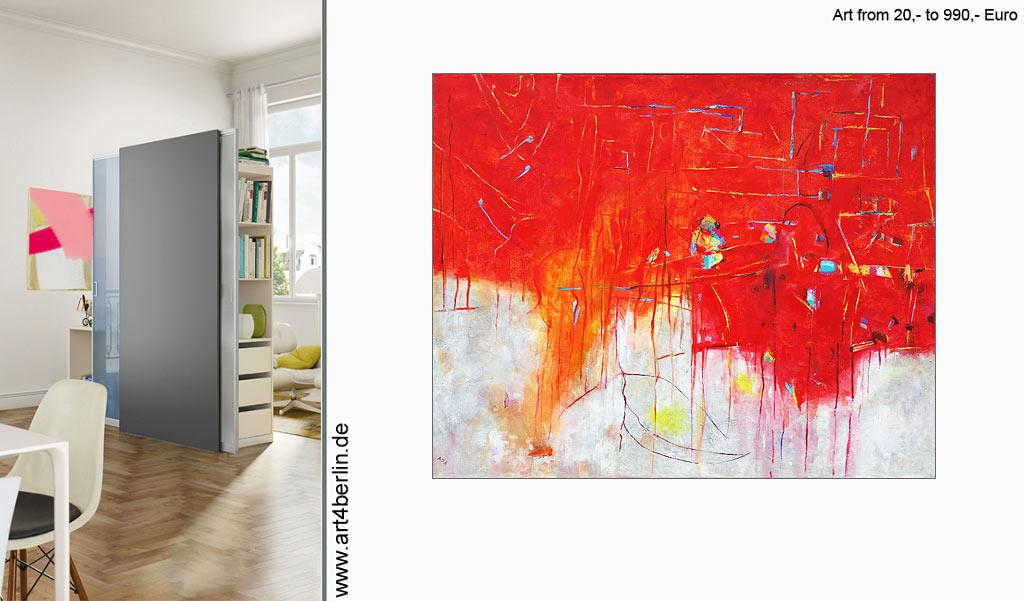 Wohnen mit Kunst. Interior Arts.