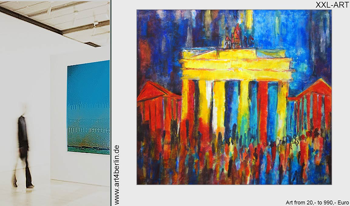 Gemälde junger Künstler neu erleben.