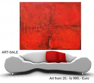 Großformatige, moderne Berlin-Kunst, hochwertige, XXL-Acrylmalerei