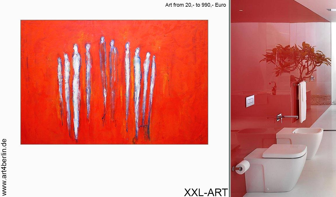 abstrakte gemaelde moderne kunst berlin