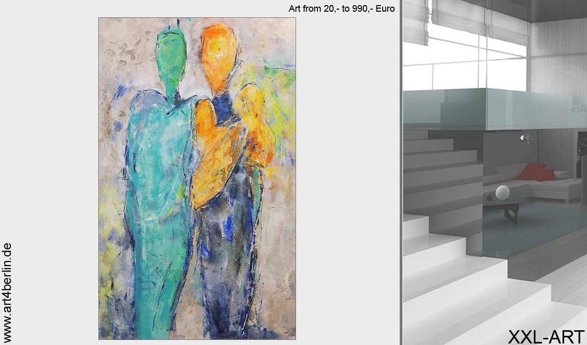 Unsere virtuelle Kunstgalerie. Wohnen mit großer Kunst.