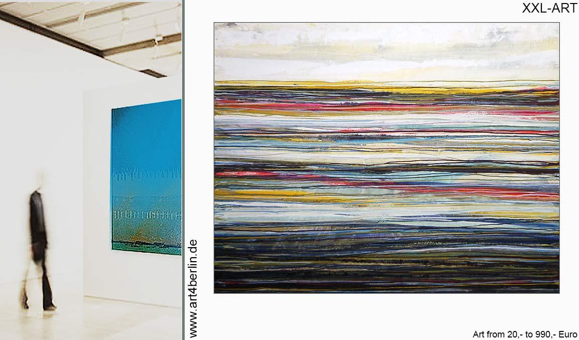 guenstig xxl bilder malerei wohnzimmer abstrakt