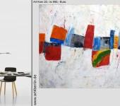 Moderne abstrakte Gemälde echt günstig